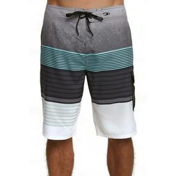 O'Neill Men's Lennox Boardshorts - Swim Trunks - Asphalt - S