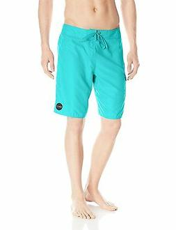 "O'Neill Men's Santa Cruz Solid Mid-Length 21"" Boardshorts Sw"