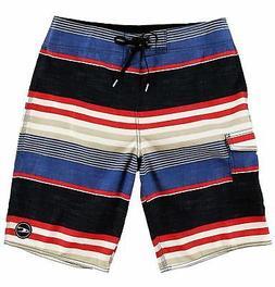 O'Neill Men's Santa Cruz Striped Boardshort - Choose SZ/Colo