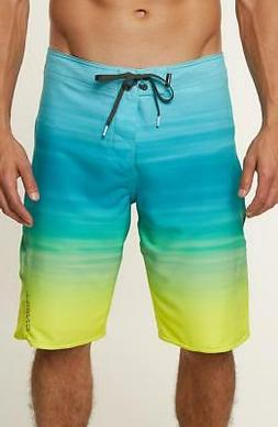 O'Neill Men's Superfreak Stretch Boardshort, MYSTO Pool, 32