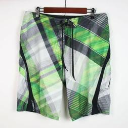 o neill plaid superfreak boardshorts 34