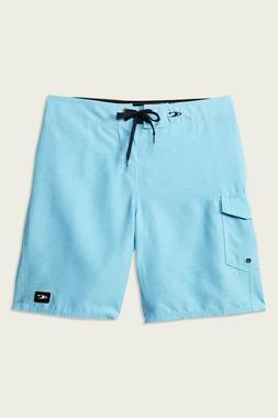 O'Neill Santa Cruz Solid Boardshorts - Men's - 33, Cyan