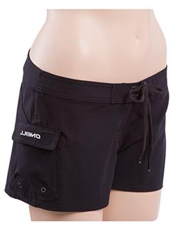 O'Neill South Pacific Womens Stretch Boardshorts 0 Black