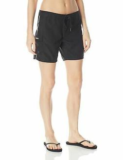 O'Neill Women's Atlantic 7-Inch Boardshort, Black, 1