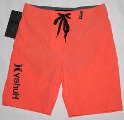 Hurley One and & Only Orange Heathered Swim Shorts Boardshor