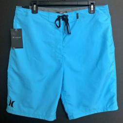 "Hurley One & Only 2.0 Boardshorts 21"" Blue NEW $40 Men's 33"