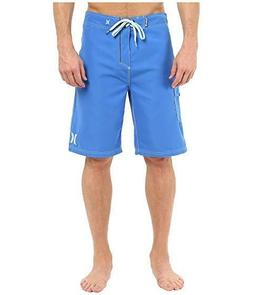 """Hurley One & Only 22""""  Boardshorts Men's size 34 Blue   #964"""