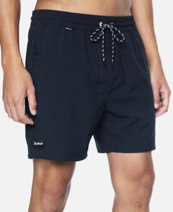 Hurley One & Only Volley Boardshort - Large  17 Inch -Navy/O