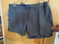 "ONeill Blue Vantage 5"" Boardshort Size 3 Cutout Side Back"