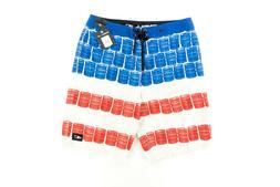Oneill Keg Leg SU8106018 Mens Boardshorts Sz. 31 USA America
