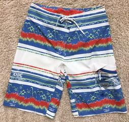 "COLUMBIA PFG OFFSHORE BOARDSHORTS BOARD SHORTS SWIM 11"" INSE"