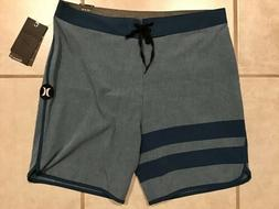 Hurley Phantom Board Swim Shorts Trunks Mens 33 Stripe Strip