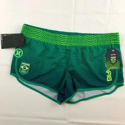 Hurley Phantom Brasil Beachrider Olympic Board Shorts Women'