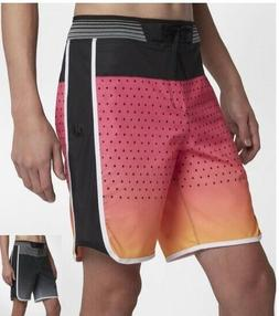 "Hurley Phantom Hyperweave Motion Reef 18"" Board Shorts Mens"