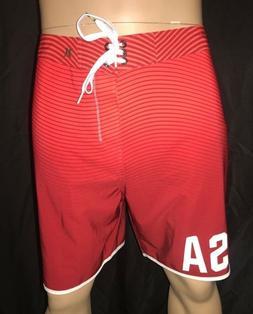 Hurley Phantom USA Olympic Team Men's Board Shorts Size 33 3