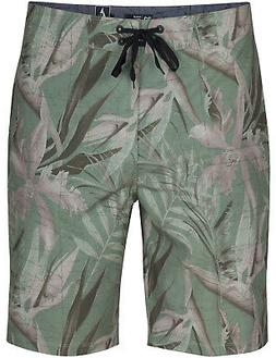 Hurley PHTM JJF MAPS 20 Inch Mid Length Boardshorts in Faded