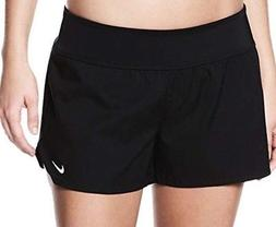 Nike Plus Size Black Swim Board Shorts 1X Woman $58 FreeShip