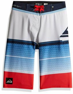 Quiksilver Big Boys' Highline Slab Youth Boardshort Swim Tru