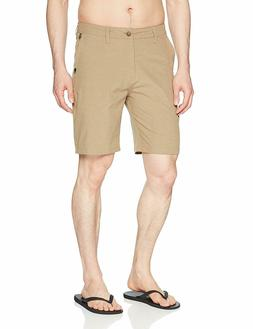 "Quiksilver Men's Union Heather Amphibian 20"" Boardshort Walk"