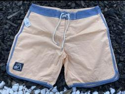 Quiksilver mens board shorts Sizes Available 32 & 34 Peach &