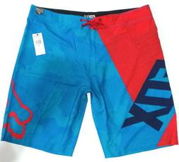 FOX RACING VAMP BOARDSHORT size 38 - ELECTRIC BLUE nwt board
