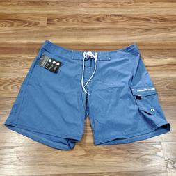 "Maui Rippers Women""s 16  Swim Shorts Boardshorts BLUE"