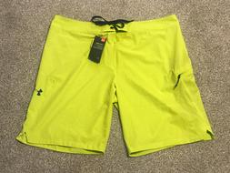Under Armour Storm Stretch Board Shorts Lime / Neon Green Co