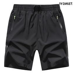 Tsingyi Summer Quick Drying Shorts men 6XL 8XL 130kg Elastic