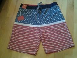 Mossimo Supply Co mens board shorts size 38 waist 22 in inse