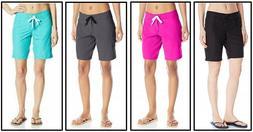 Kanu Surf Womens Marina Board Shorts 8101 Aqua, Lagoon, Pink
