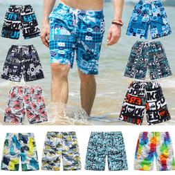Swim Beach Shorts Colorful Quick Dry Men's Surf Board Shorts