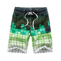 Swim Trunk Men's Beachwear Board Shorts Quick Dry with Mesh