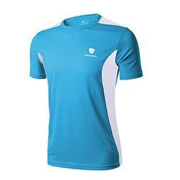 Mens Tank Tops! JSPOYOU V-neck Short-sleeved T-shirt Workout