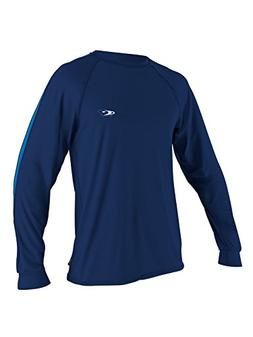 O'Neill men's Tech 24/7 long sleeve S Navy/pacific