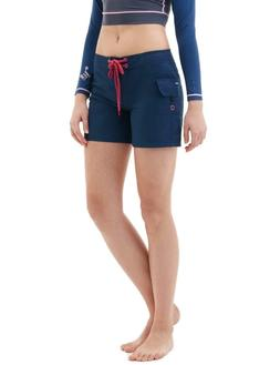Tesla Women's Swim Trunks Quick Dry Water Beach Board Shorts