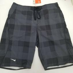 Nike The Athletic Dept Board Shorts Black/Gray Size 36 NWT