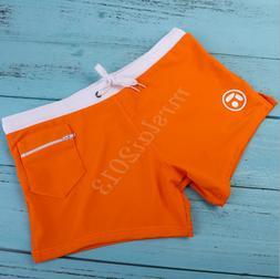 US Orange S Size Men Swimwear Sexy Surf Board Beach Wear Swi