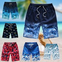 US Summer Mens Boardshorts Surf Beach Shorts Swim Wear Sport