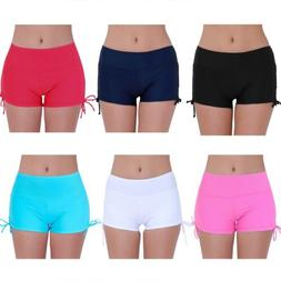 US Women Swim Boardshorts Beach Swimming Shorts Briefs Bikin