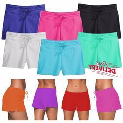 US Womens Swimming Shorts Boardshorts Ladies Bikini Brief Bo