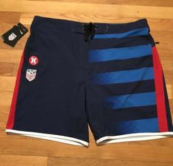 "HURLEY USA Away National Team 18"" Board Shorts Boardshorts A"
