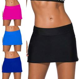 USA Women Swimwear Skirted Swim Boardshort Bikini Bottoms Sw