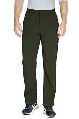 "Unitop Men's Winter Windproof Snow Ski Pants Green-3 36/34"""