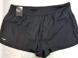 Nike Women's Board Short Swim Black 3X NWT Retail $58