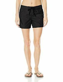 Kanu Surf Women's Breeze Board Shorts, Black, 8