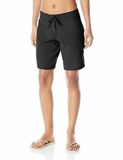Kanu Surf Women's Marina Solid Stretch Boardshort Black 14