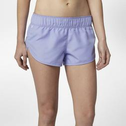 "Hurley Women's Supersuede Beachrider 2.5"" Boardshorts - Purp"