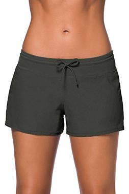 women s swim boardshort bottom shorts swimming