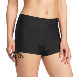 Women's Swim Shorts Summer Plain Trunks Bottoms Board Bikini