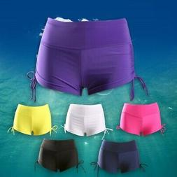 Women Swim Shorts Briefs Beach Swimming Bottoms Pants Boards